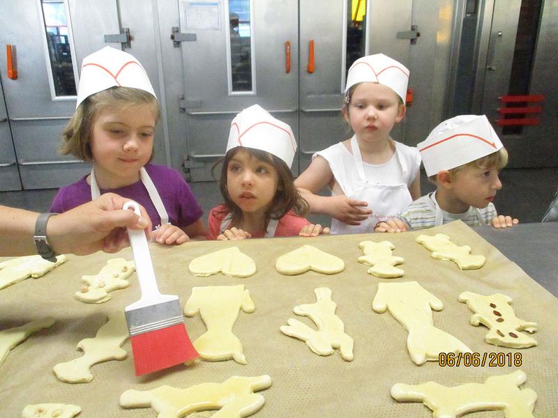 Besuch bei der Bäckerei Hesse
