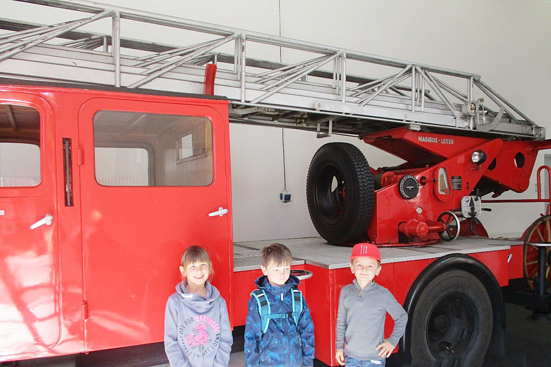 Ausflug zur Feuerwehr