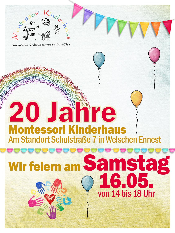 Jubiläum: 20 Jahre Kinderhaus
