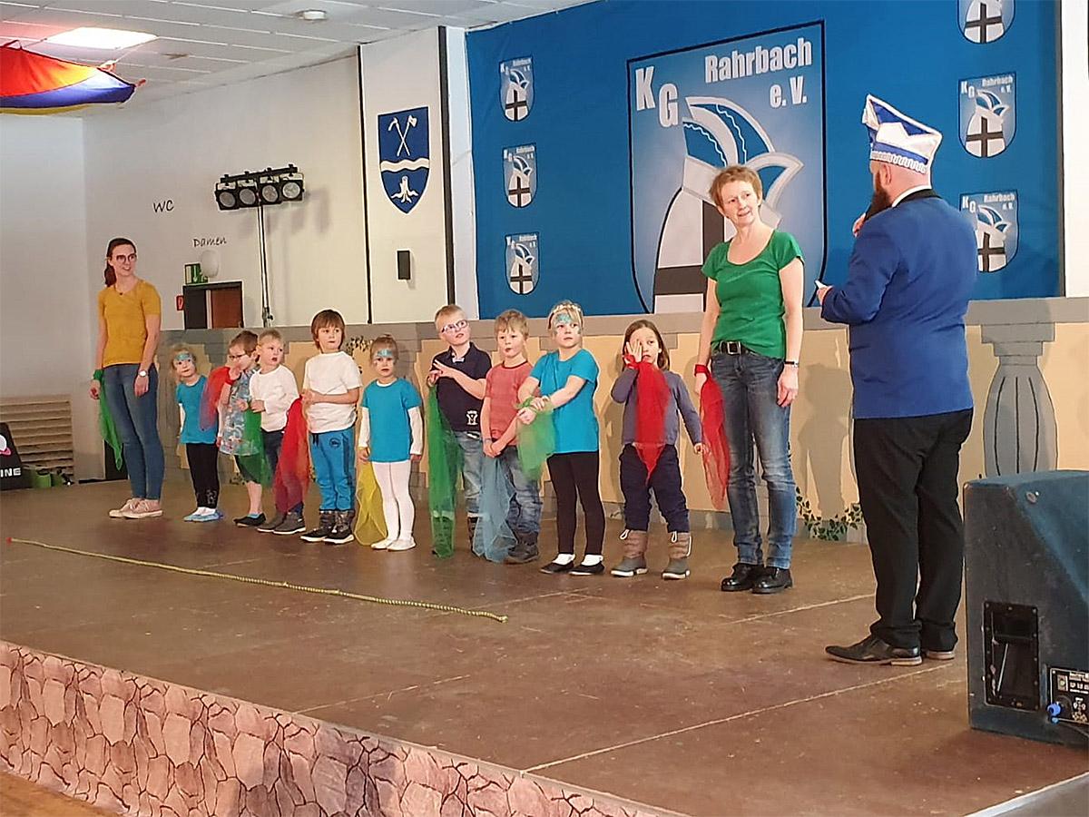 Auftritt beim Seniorenkarneval in Rahrbach