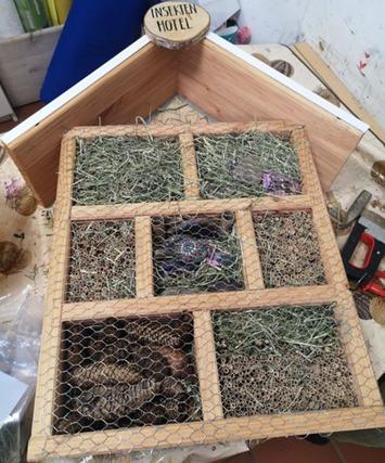 Insektenhotel fertig!